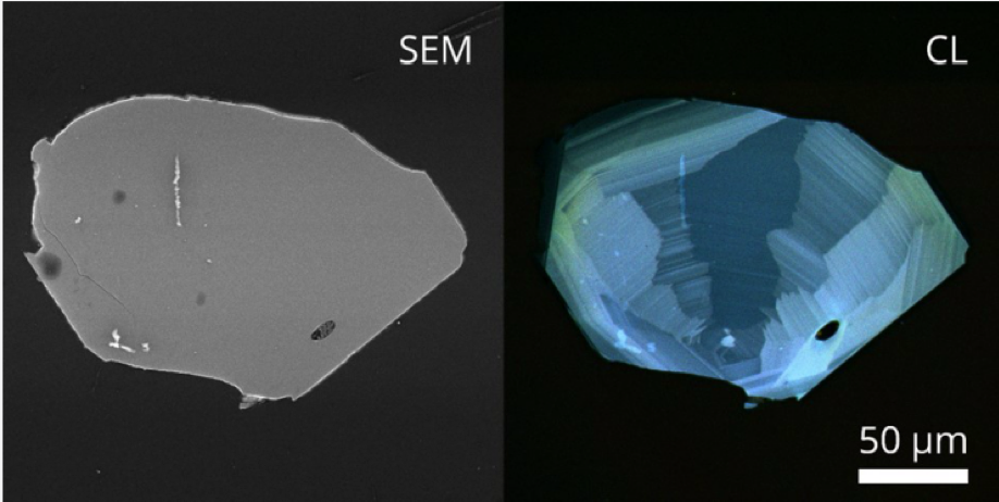 Intensity Mapping of Zircon