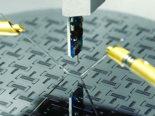 Wafer-level electro mechanical testing