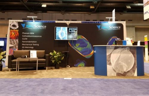 Nanoscience Instruments Booth at M&M 2017