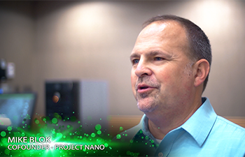 Dr. Mike Blok of Project Nano