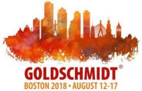 Goldschmidt Conference in Boston