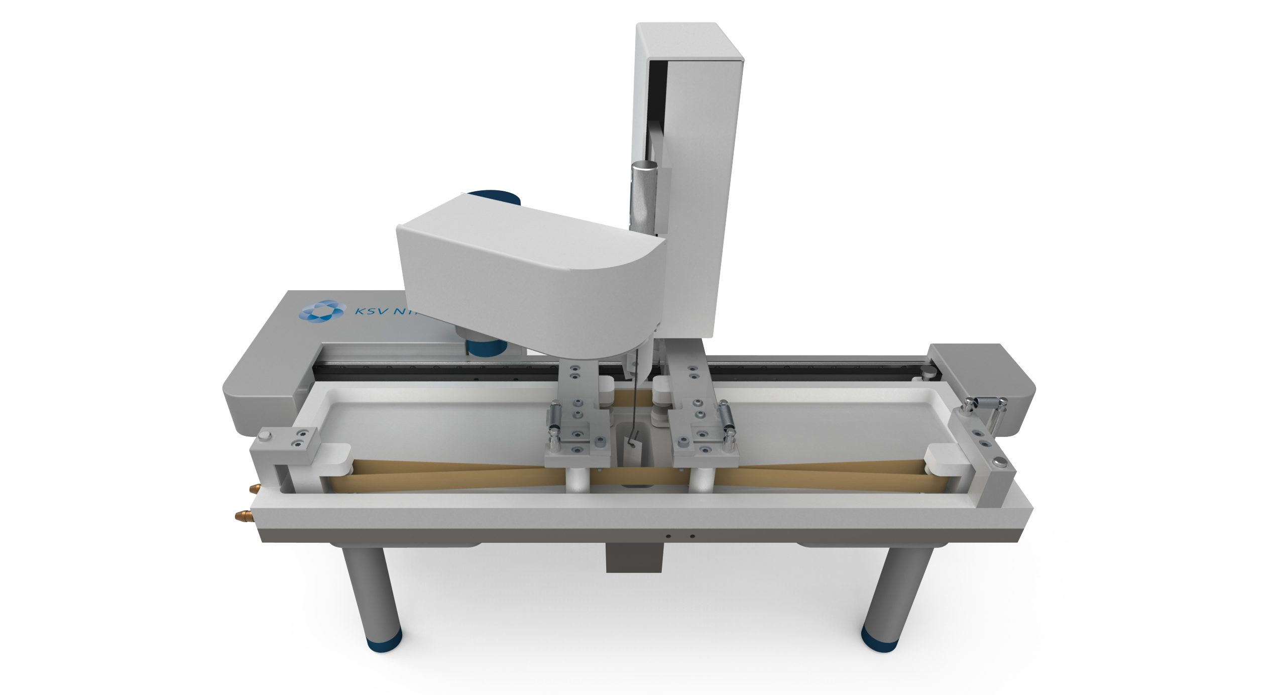 Product Image of the KSV NIMA Langmuir Ribbon Barrier Trough