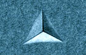 Berkovich Tip in Nanoindentation
