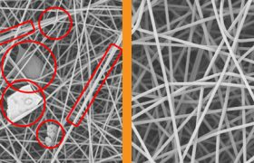 Eliminate Imperfections in Electrospun Nanofibers