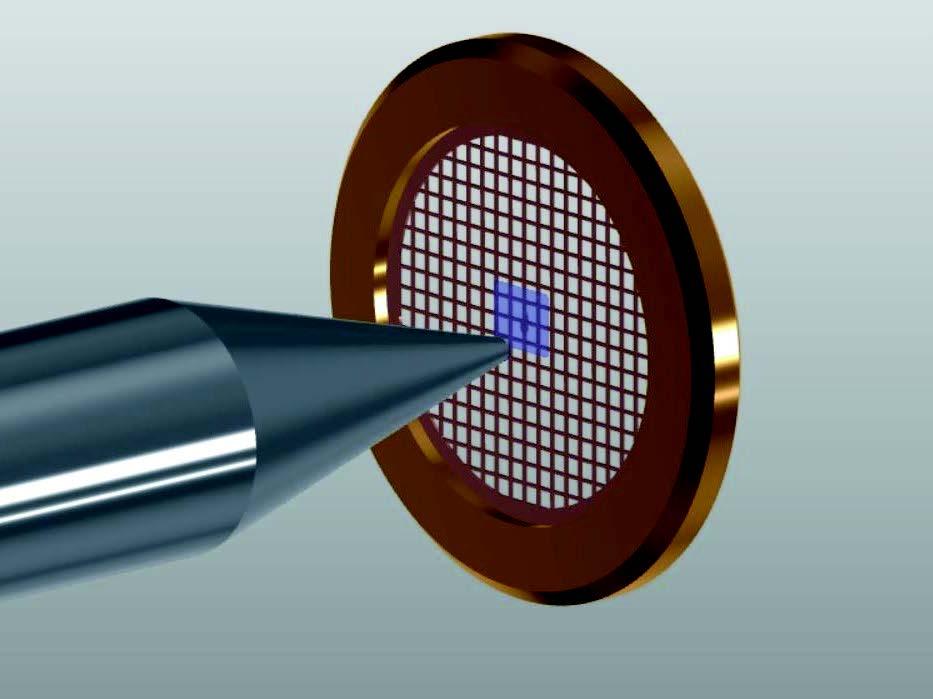 CryoEM sample deposition chamber