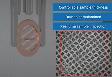 VitroJet CryoEM sample preparation