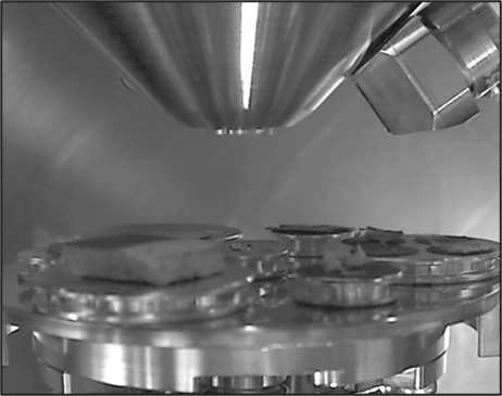 Chamber cam image from Axia ChemiSEM