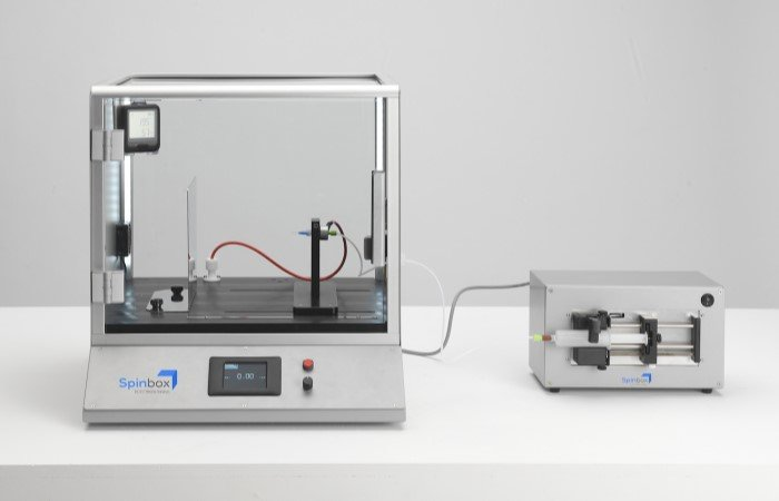 Spinbox electrospinning system